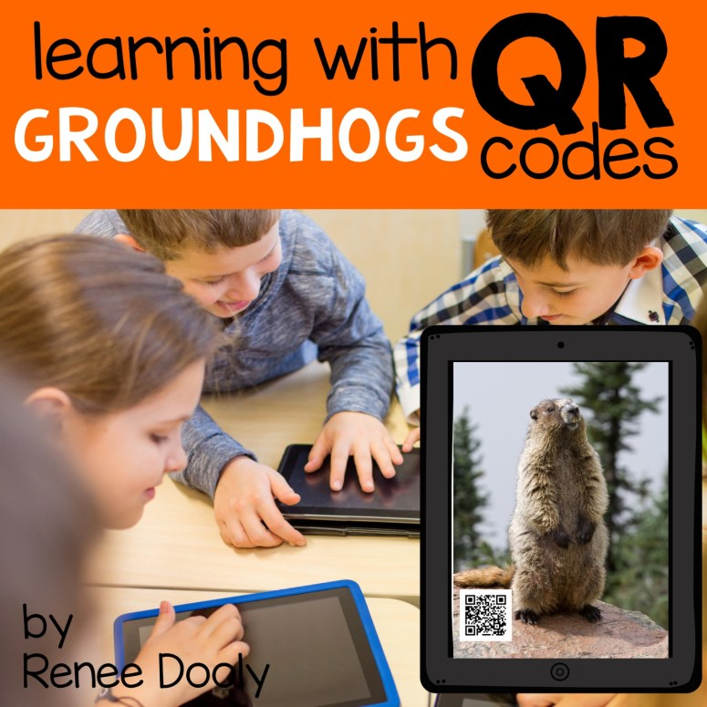 groundhog videos attached to QR codes