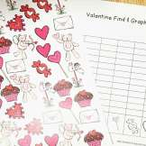 Valentine's Day Math- find, tally and graph