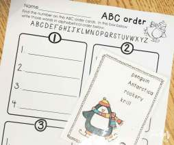 penguins ABC order