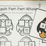 penguins part part whole