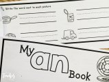 word family books for practice