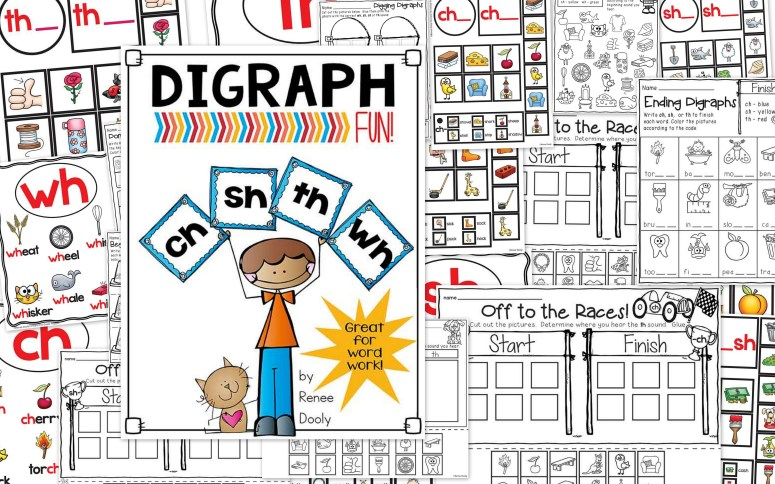 Digraphs collage