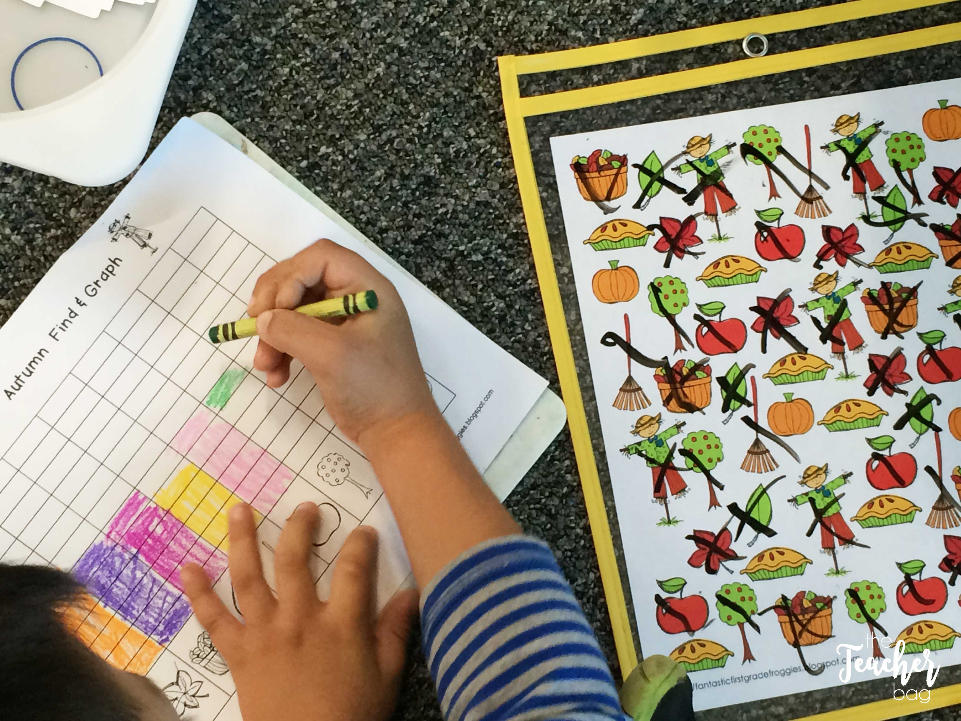 find, tally and graph autumn fun