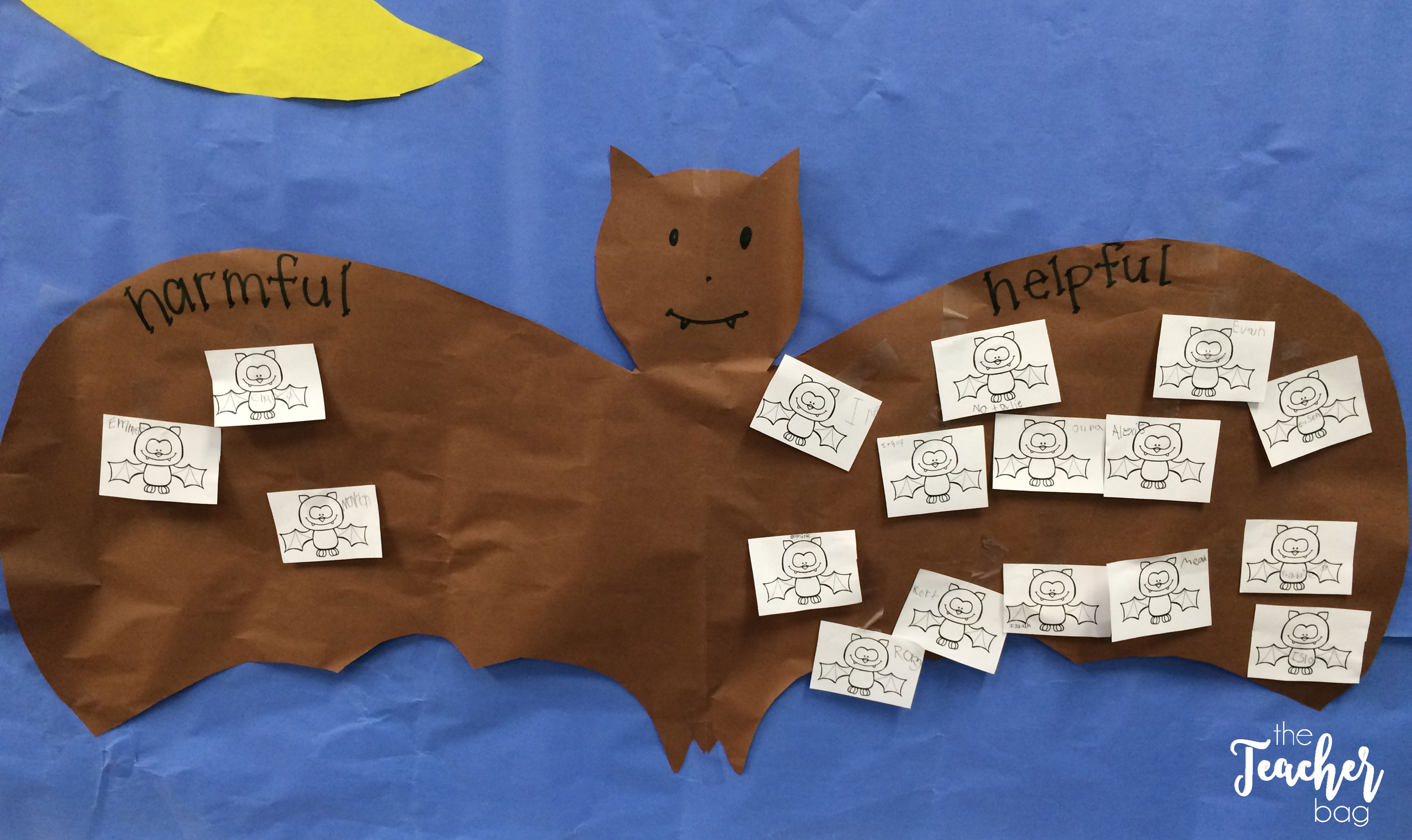 Are bats harmful or helpful anchor chart