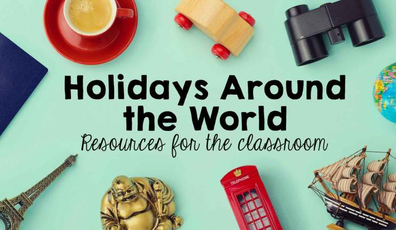 Holidays Around the World (freebie)