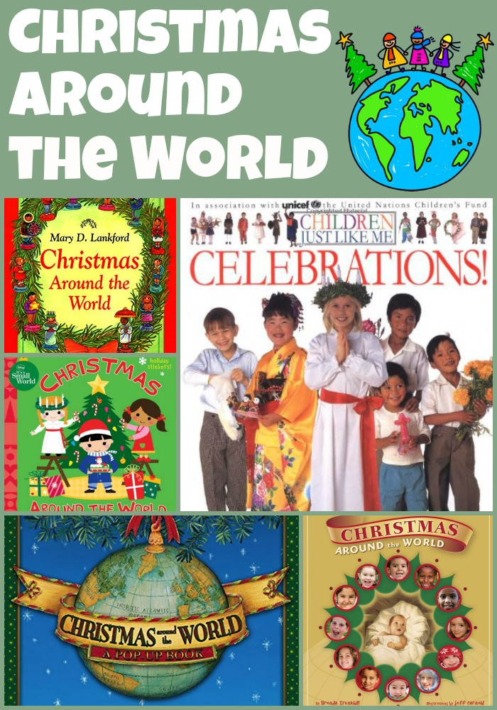 xmas around the world books Collage