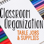 Organization Tip: Student Supplies