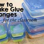 How to Make Glue Sponges (tutorial)