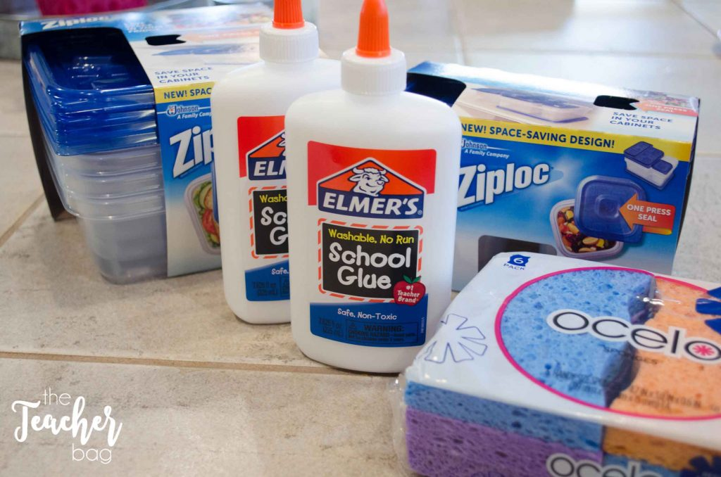 glue sponge supplies