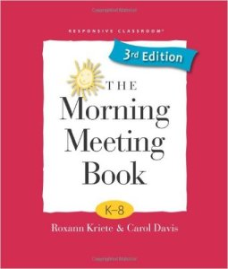 morning meeting book