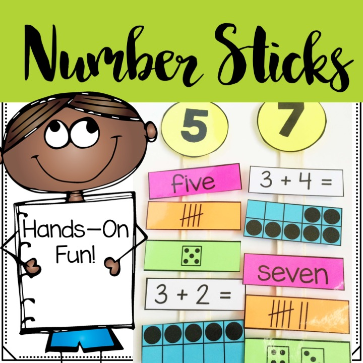 number-sticks