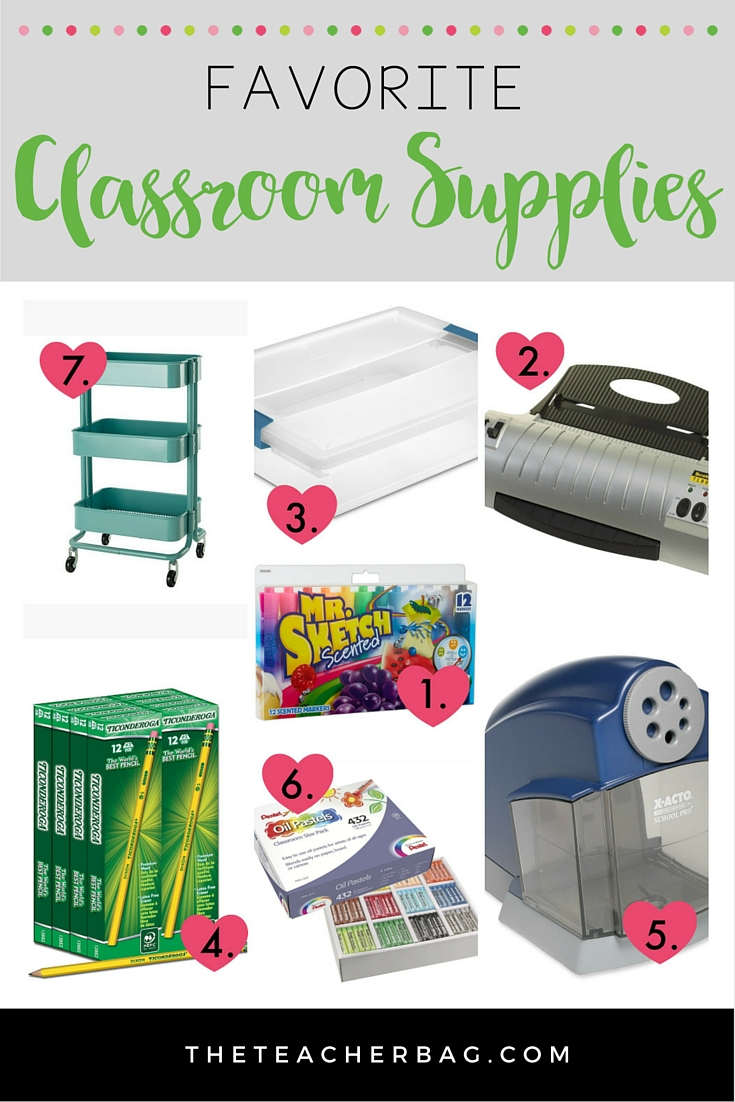 favorite classroom supplies
