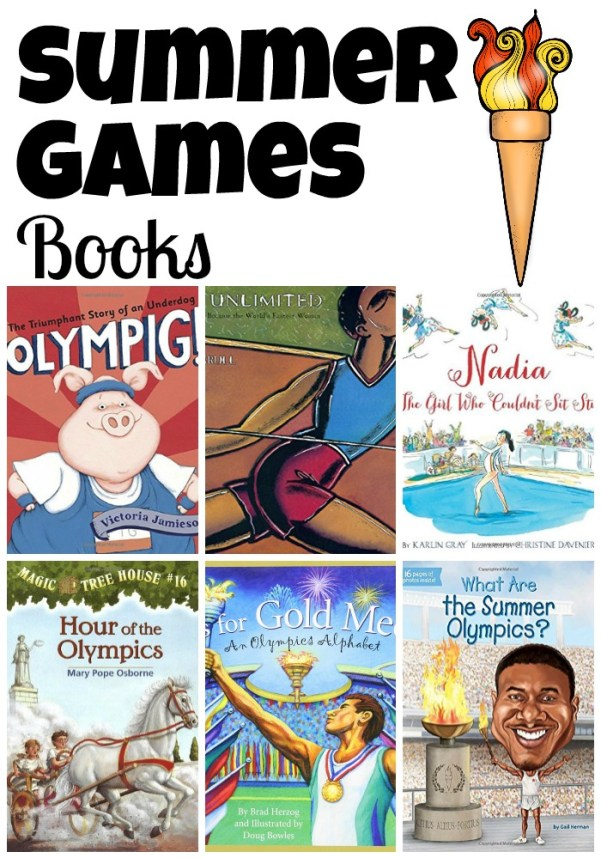 summer games book Collage