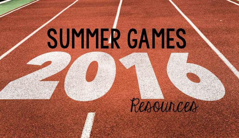 Summer Games Resources (Freebie)