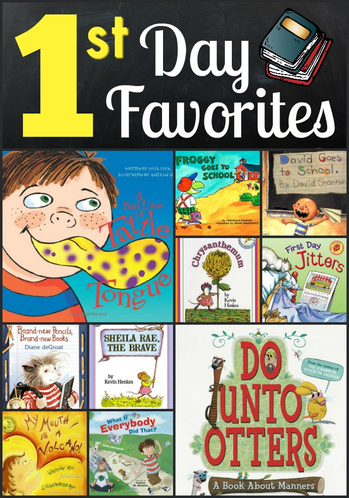 Great read-aloud books for the beginning of the year.
