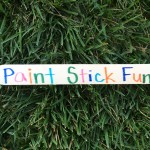 Hands-On Fun With Paint Sticks