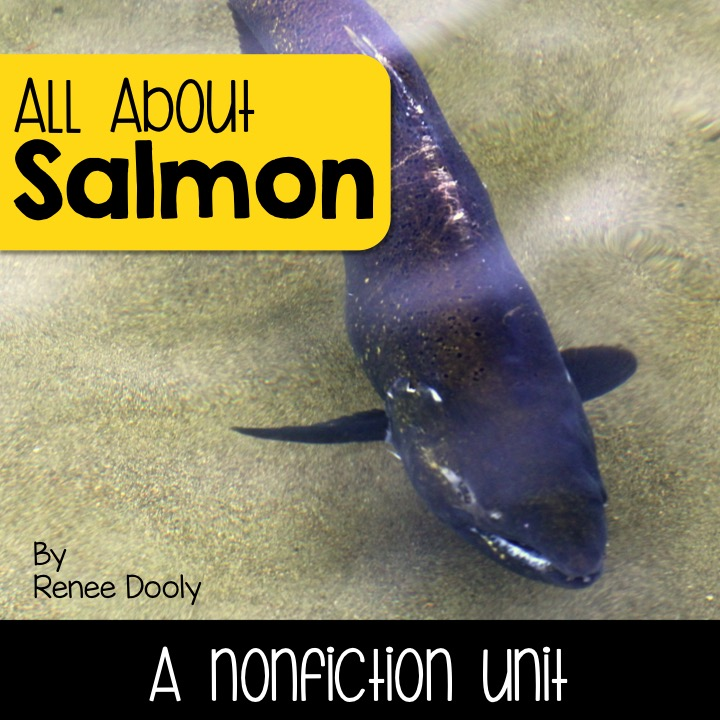 salmon nonfiction unit