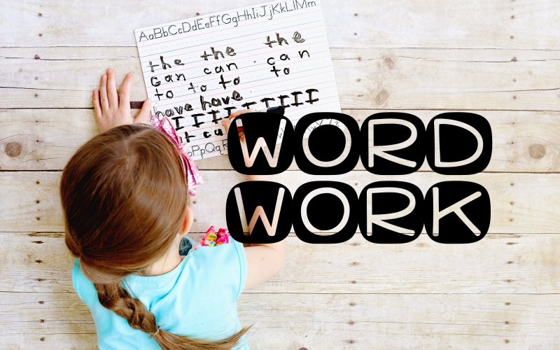 Word work activities that can be tailored to used with any words that you want.