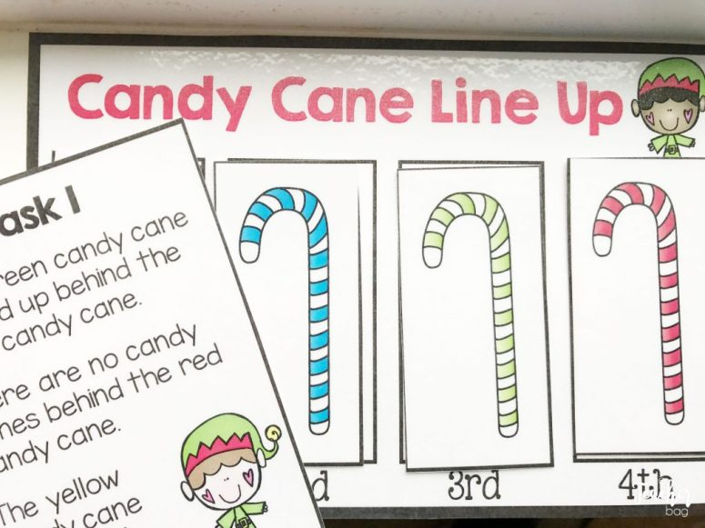 candy cane line up freebie