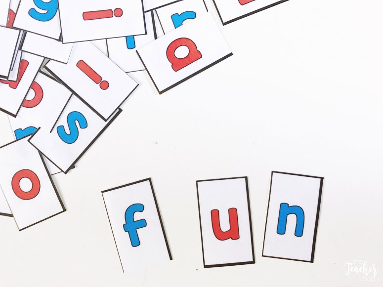 word building letters