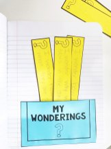 my wonderings interactive pocket page