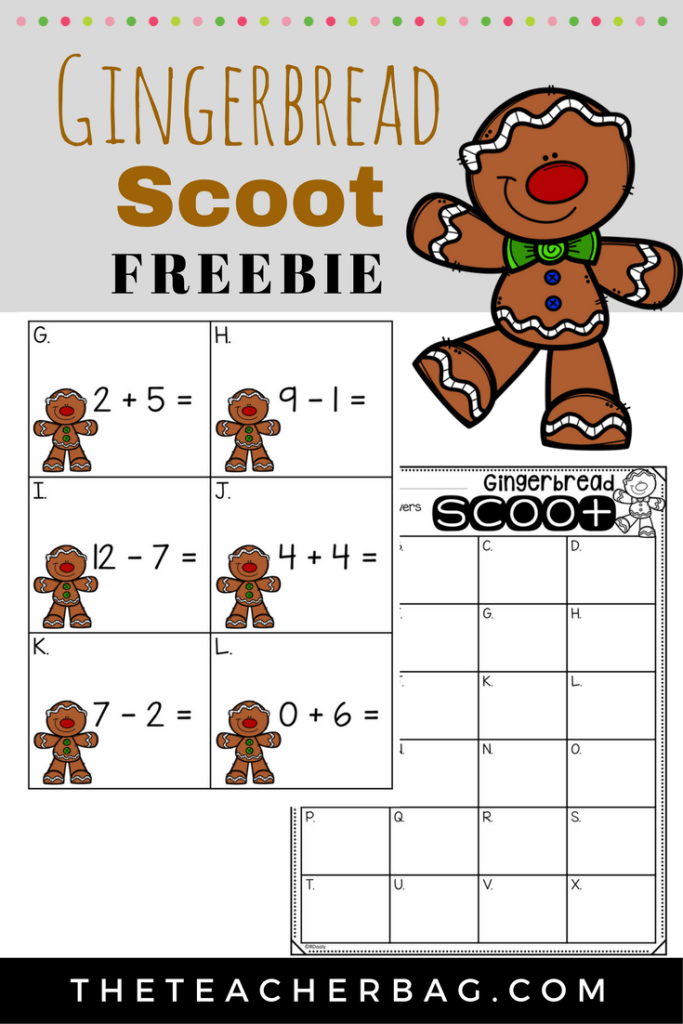 gingerbread Scoot Freebie
