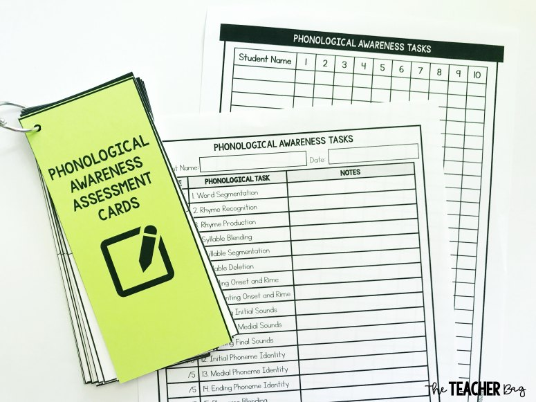 phonological awareness assessments