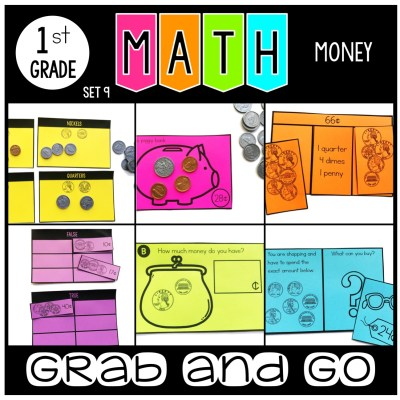 Grab and Go Math Money