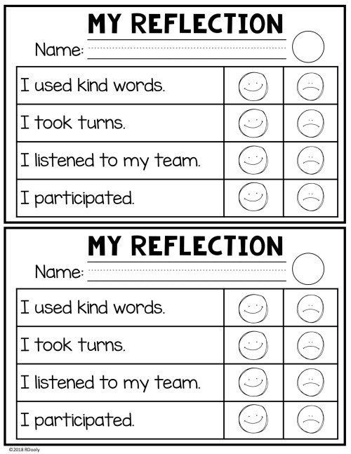 reflection for collaborative learning