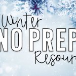 January NO PREP Resources