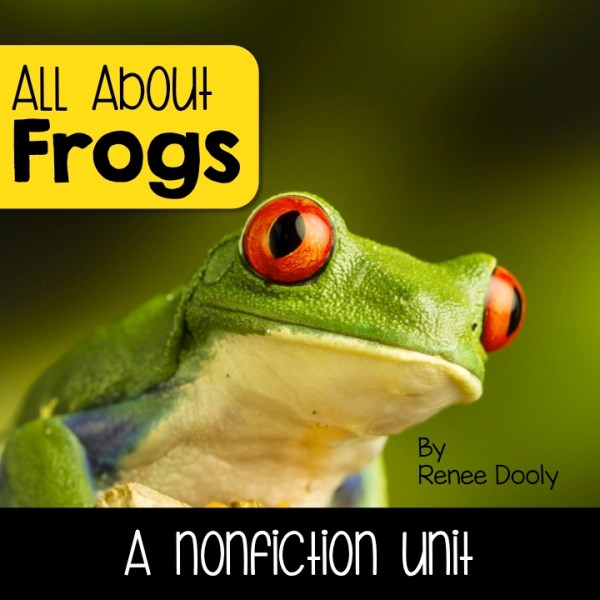 frog nonfiction unit