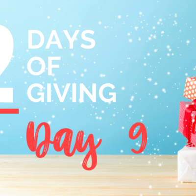 12 days of giving day 9