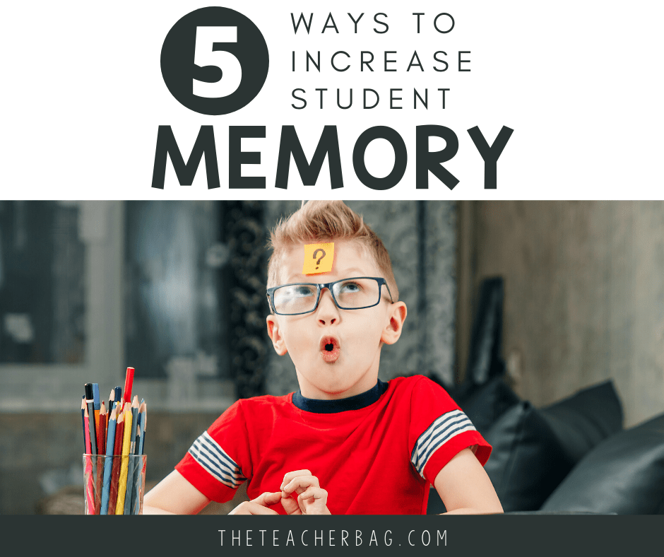 5 ways to increase student memory