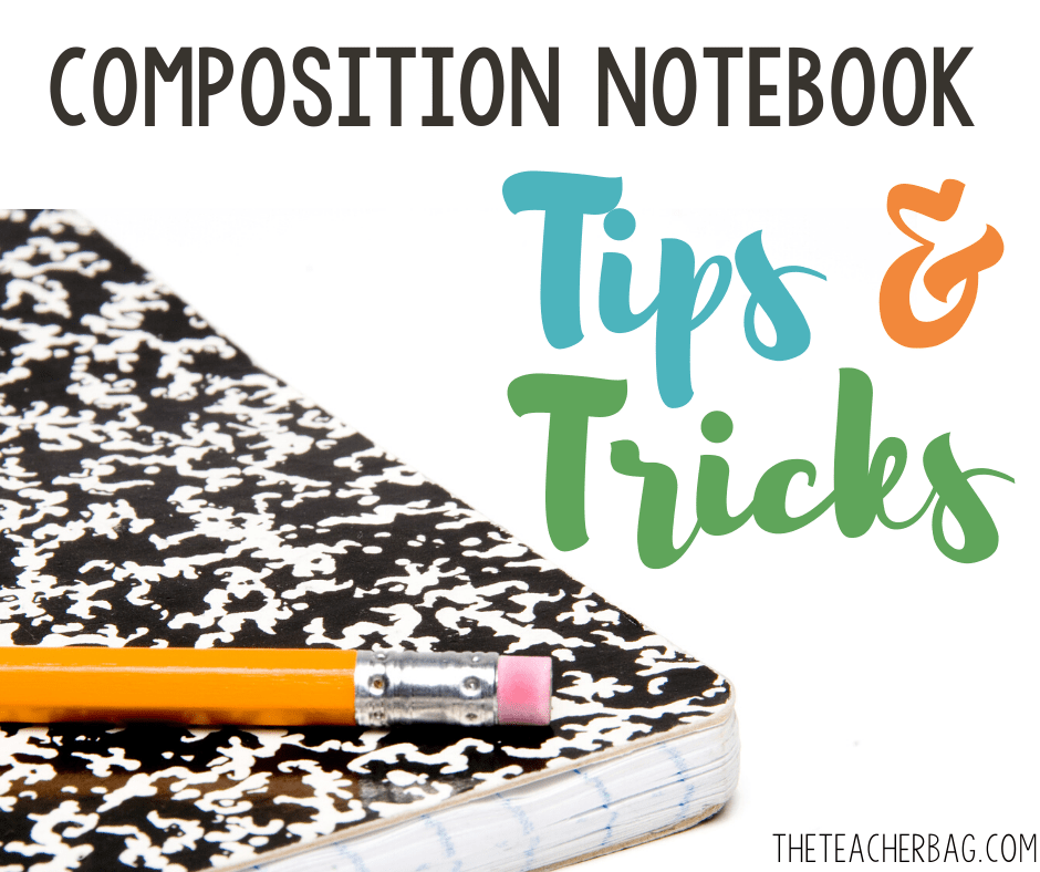 composition book tips and tricks