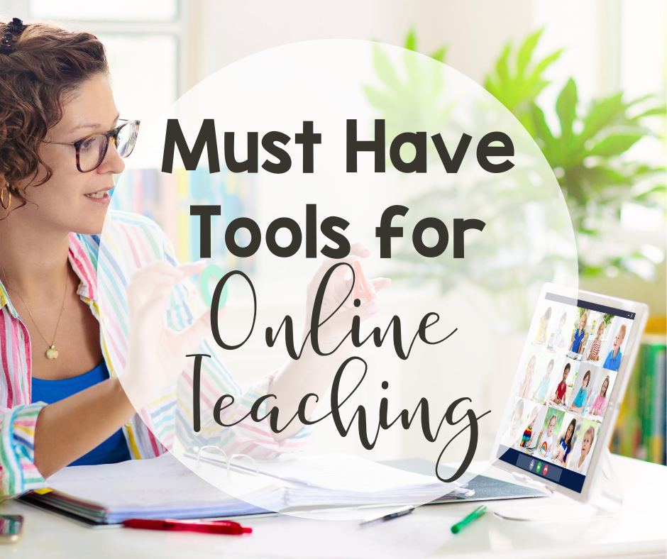 Tools for online teaching