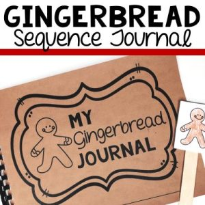 gingerbread man retell journal