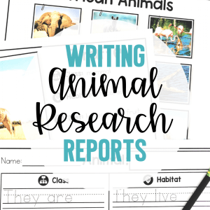 writing animal research reports