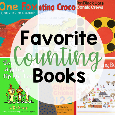 collage of counting books