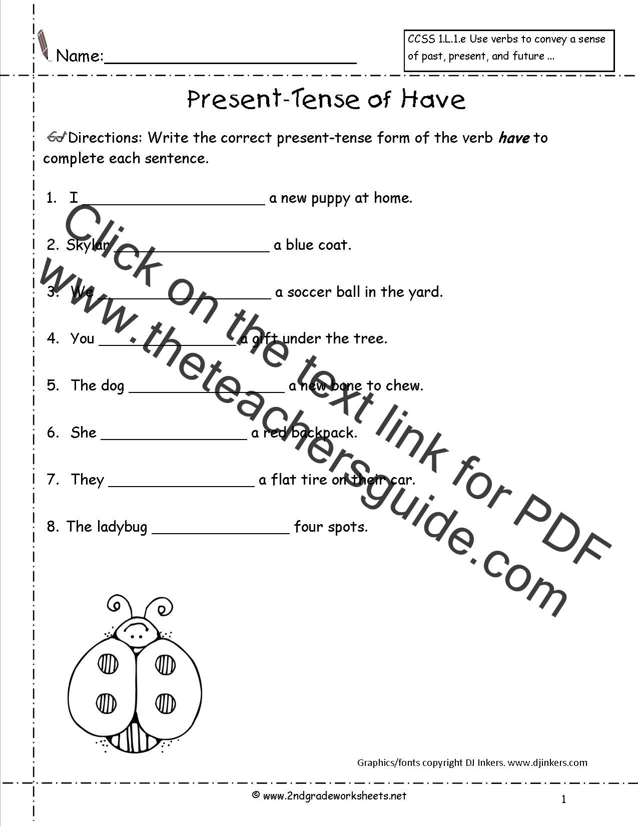 Worksheet Irregular Verbs Worksheet 2nd Grade Grass