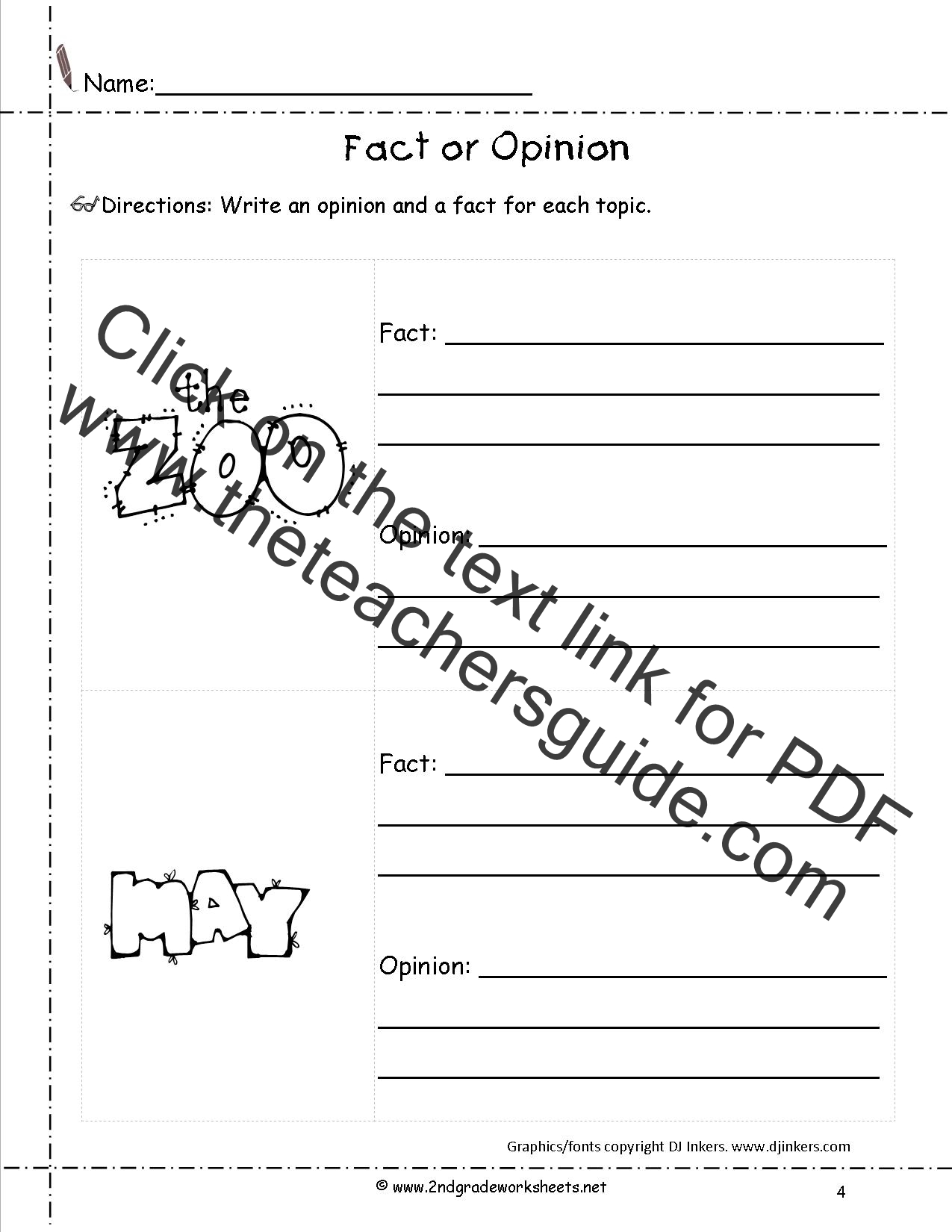Opinion Writing Lesson Plans Themes Printouts Crafts