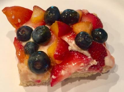 Summer Fruit Pizza