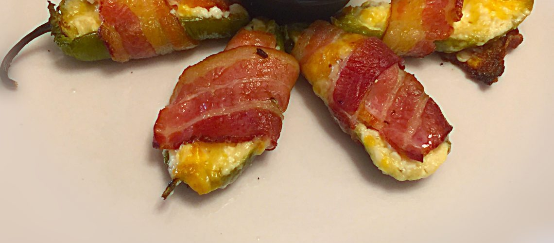 Bacon, Cheddar, Jalapeno Poppers