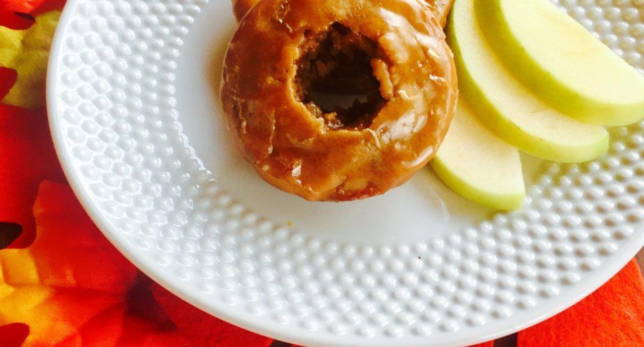 Baked Cinnamon Spiced Apple Cider Donuts