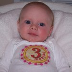 Savannah at 3 Months