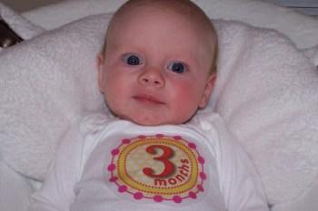 Savannah at 3 Months