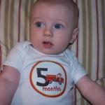 Brady at 5 Months