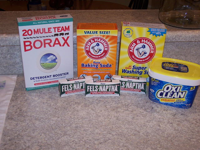 Homemade Powder Laundry Detergent The Teacher S Wife