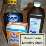 Homemade Laundry Stain Remover