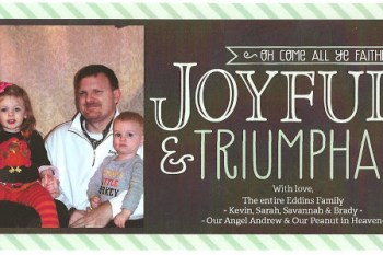 Merry Christmas from the Eddins Family {2013}!