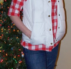 Frugal Fashion Friday – Plaid Shirt & Puffer Vest